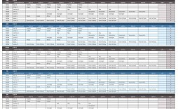 007 Frightening 24 Hour Work Schedule Template Sample  7 Day