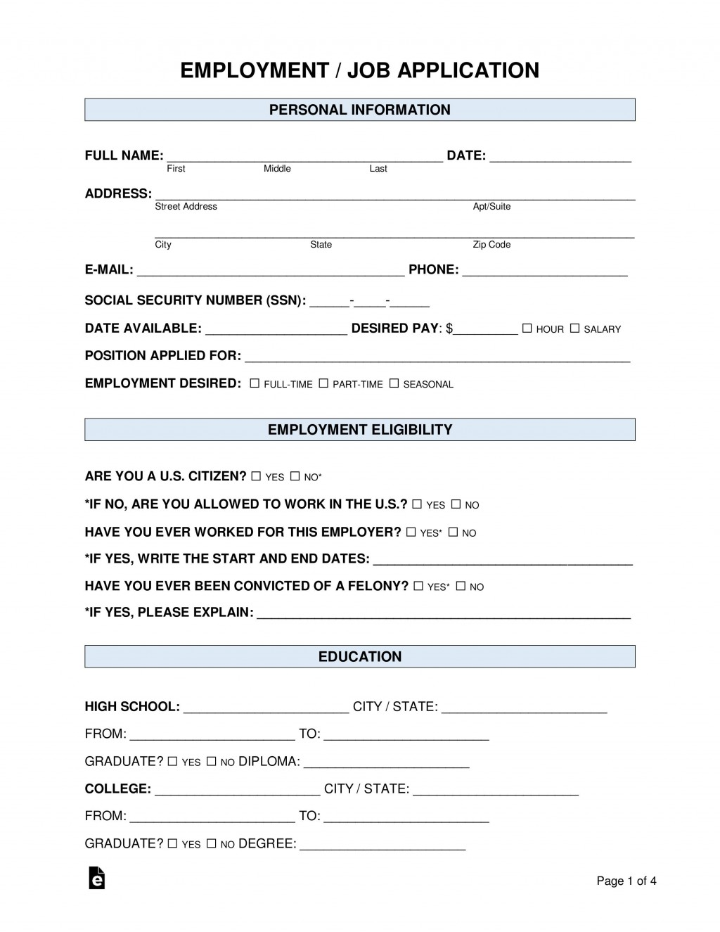 007 Frightening Basic Job Application Template Example  Simple Letter WordLarge
