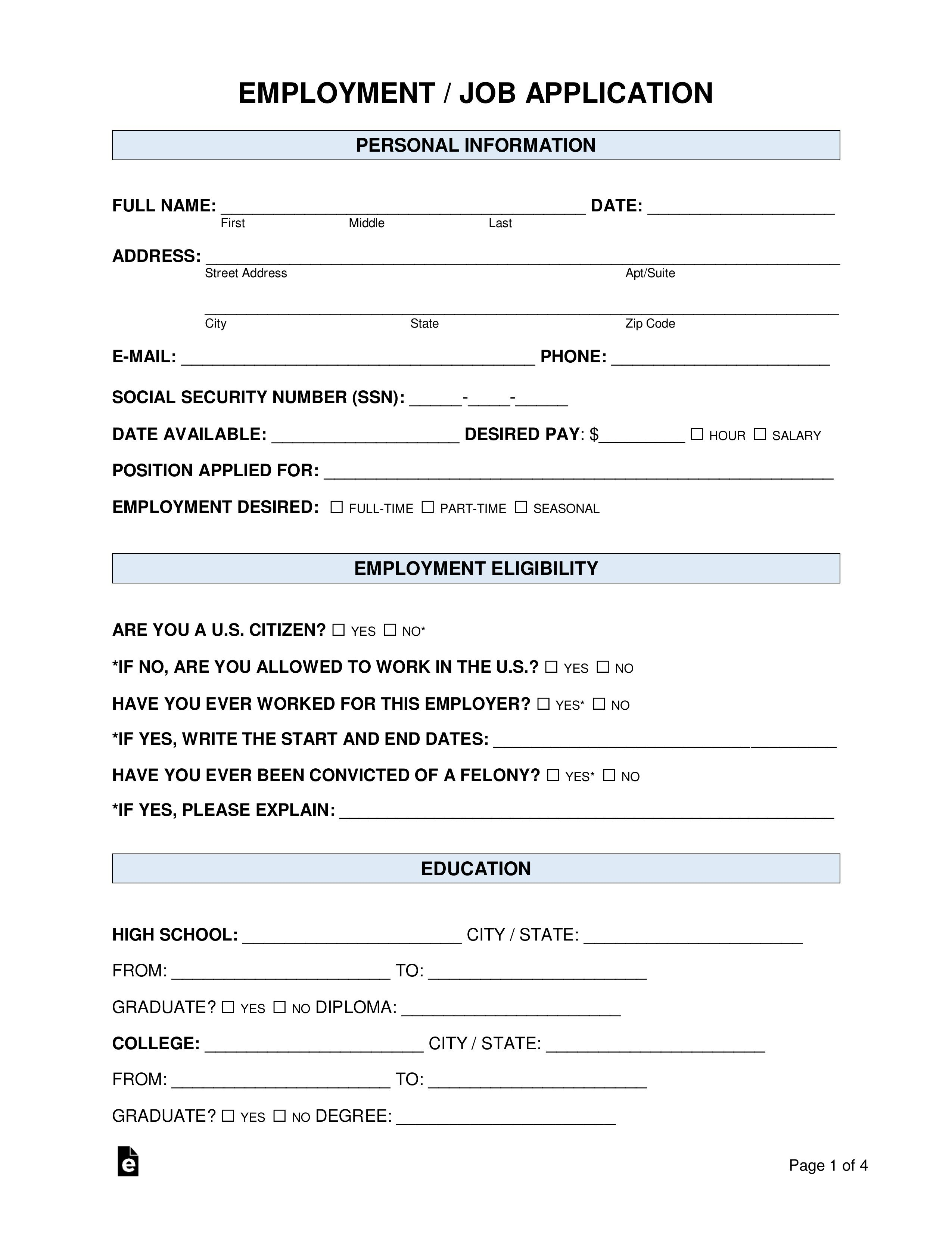 007 Frightening Basic Job Application Template Example  Simple Letter WordFull