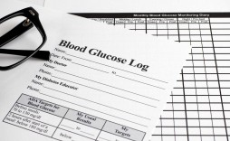007 Frightening Blood Glucose Log Form Highest Quality  Forms Weekly Sheet Level