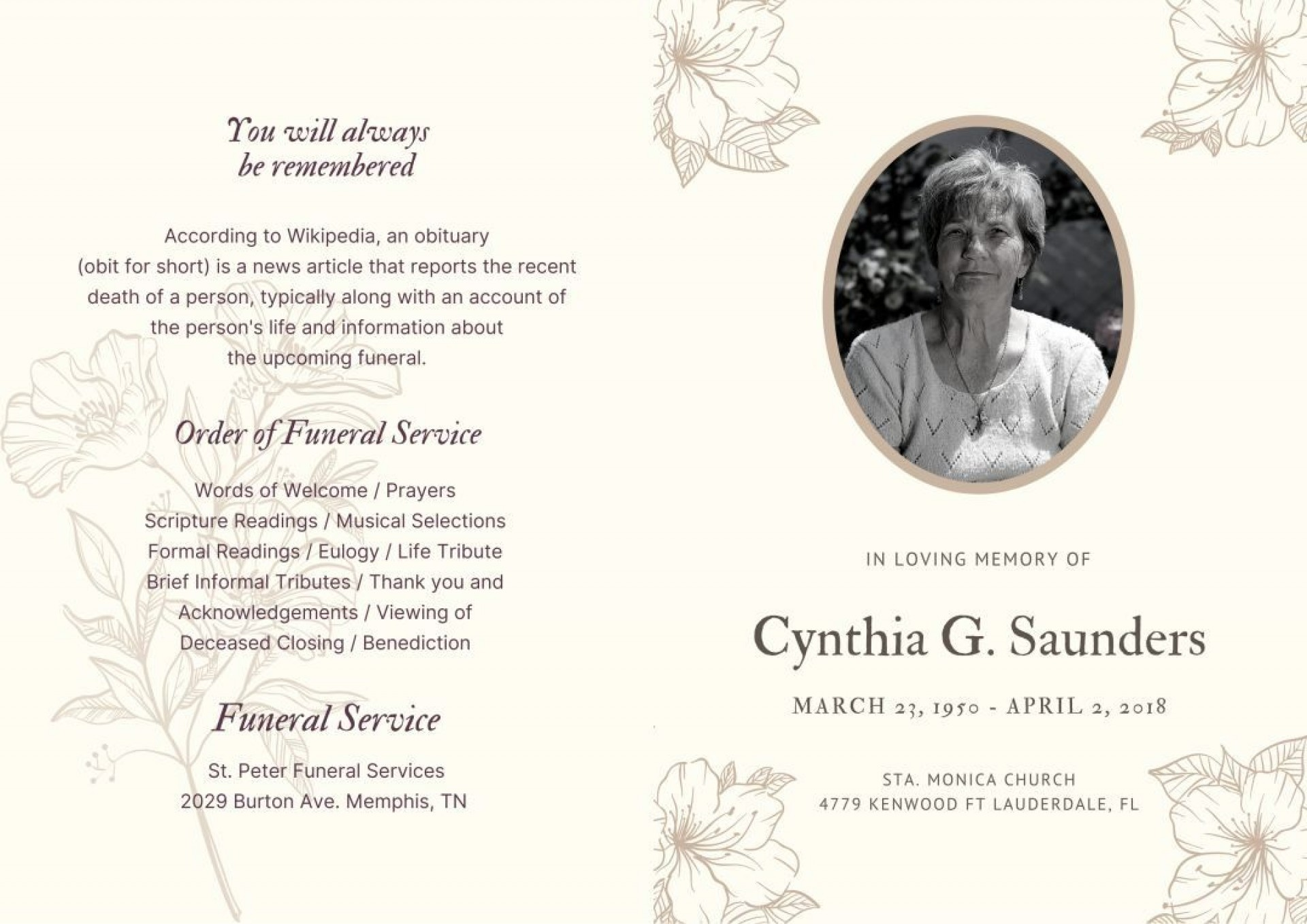 007 Frightening Celebration Of Life Template Free Download Highest Clarity  Invitation1920