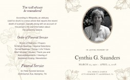 007 Frightening Celebration Of Life Template Free Download Highest Clarity  Invitation