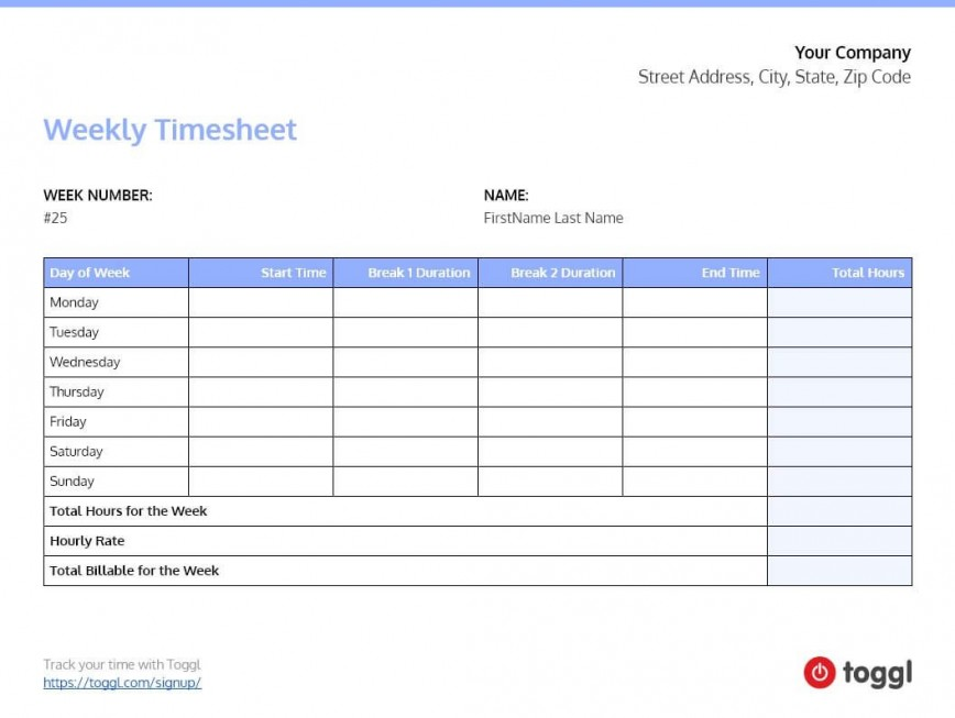 007 Frightening Excel Timesheet Template With Task Highest Clarity  Tasks Free