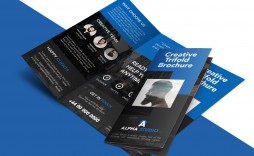 007 Frightening Free Brochure Template Psd Ai Ep Download Design