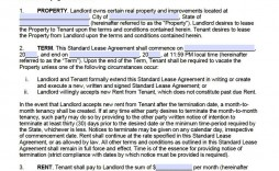 007 Frightening Free Lease Agreement Template Word Inspiration  Doc Residential Commercial Uk