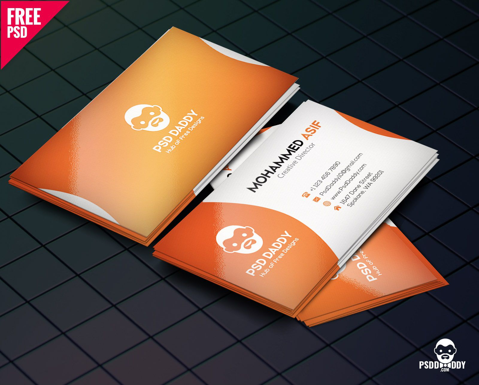 007 Frightening Free Printable Busines Card Template Download Highest Clarity Full