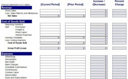 007 Frightening Income Statement Format In Excel Download High Def