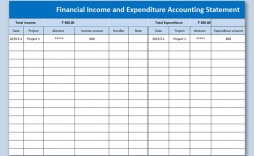 007 Frightening Personal Income Expense Statement Template Excel Example