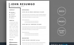 007 Frightening Two Column Resume Template Word Concept  Cv Free Microsoft
