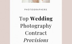 007 Frightening Wedding Photography Contract Template Canada Highest Clarity