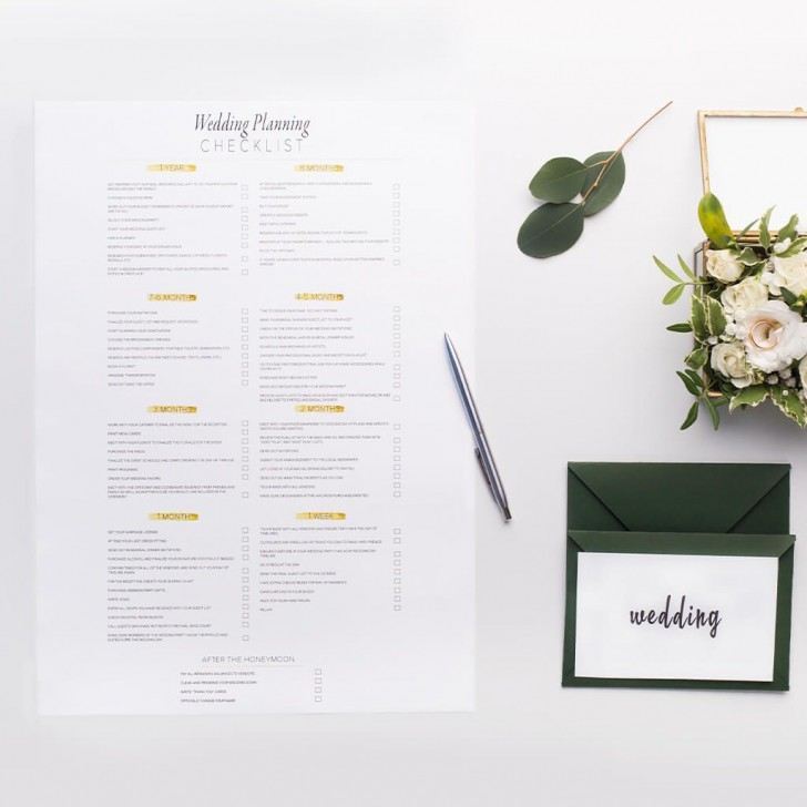 007 Frightening Wedding Timeline For Guest Template Free Sample  Download728