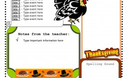 007 Frightening Weekly Newsletter Template For Teacher Free Photo