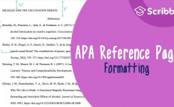 007 Imposing Apa Reference Page Template Inspiration  Format In Word For Website Generator