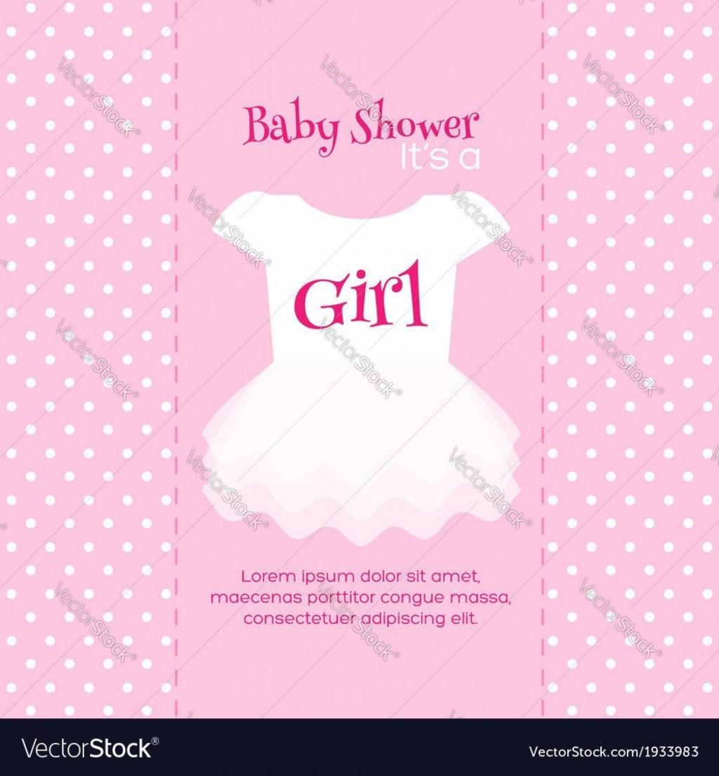 007 Imposing Baby Shower Invitation Girl Free Printable High Def  TwinLarge