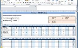 007 Imposing Employee Shift Scheduling Template Image  Schedule Google Sheet Work Plan Word Weekly Excel Free