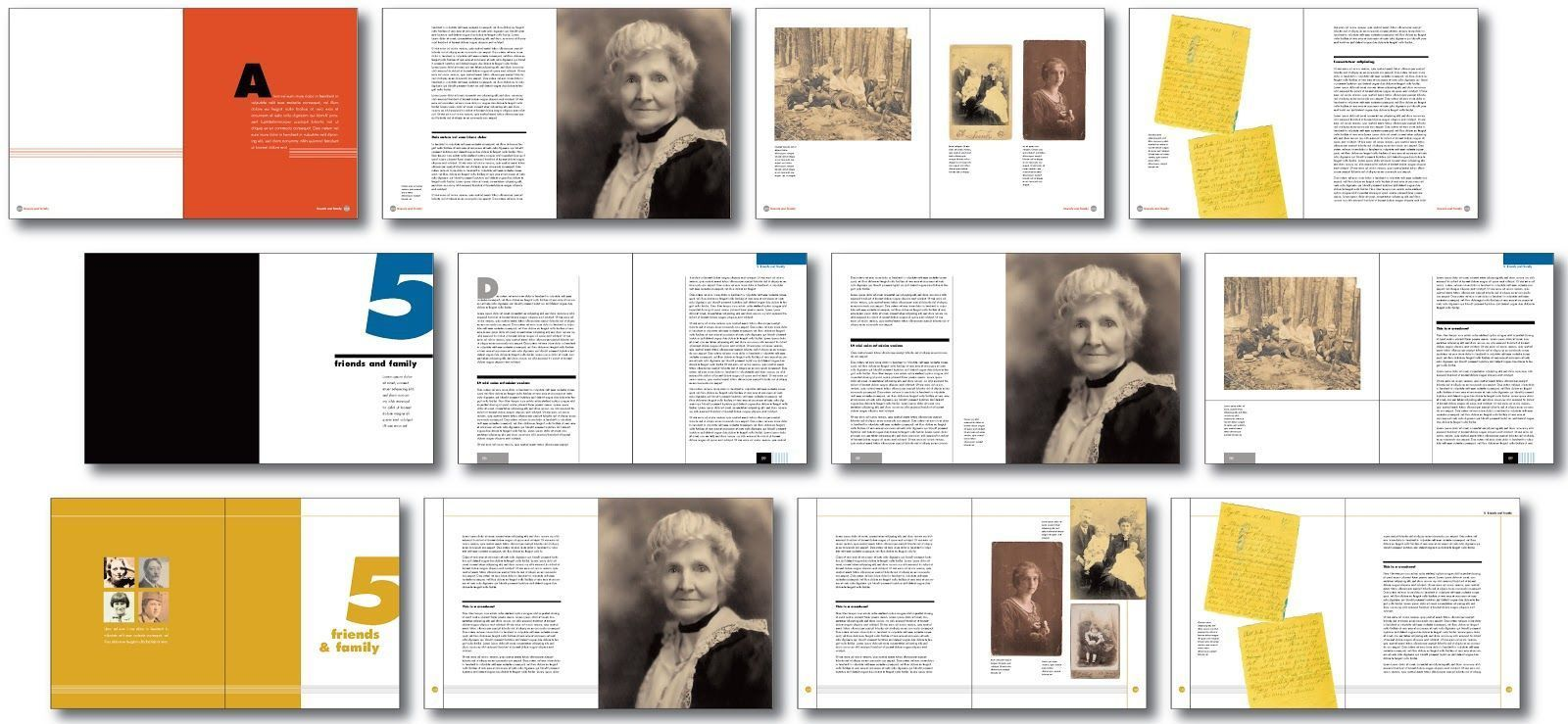007 Imposing Family History Book Template High Resolution  Sample Writing AFull