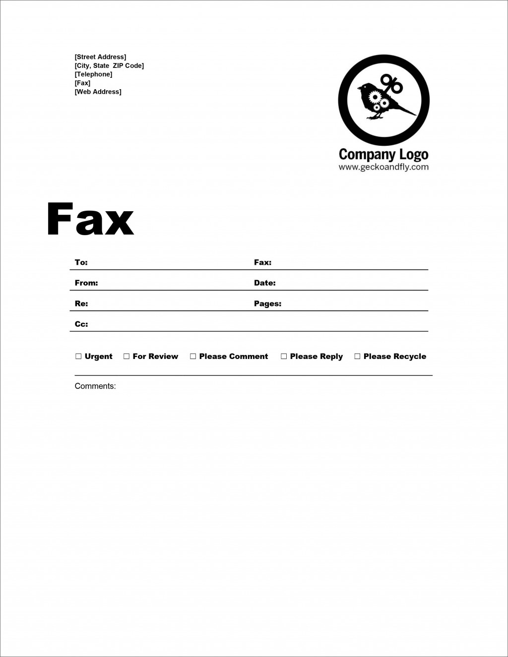 007 Imposing Fax Template Microsoft Word Inspiration  Cover Sheet 2010 Letter BusinesLarge