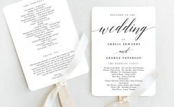 007 Imposing Free Download Template For Wedding Program Design  Programs