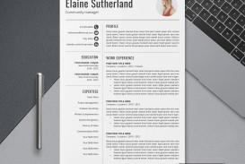 007 Imposing Free Printable Creative Resume Template Microsoft Word Concept