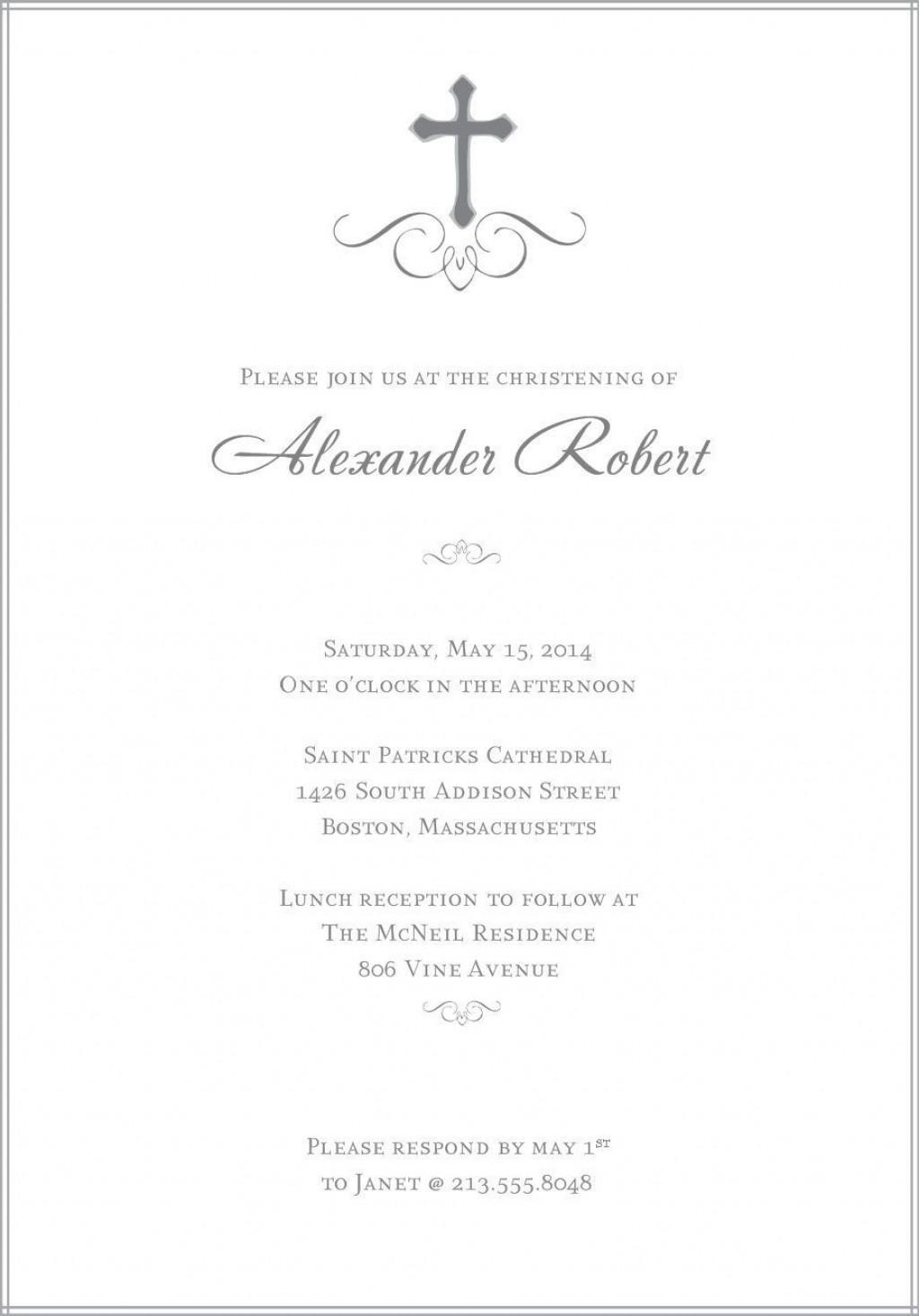 007 Imposing Free Religiou Invitation Template Printable Design Large