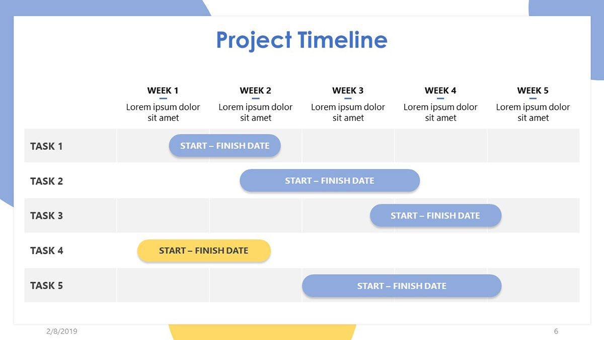 007 Imposing Project Timeline Template Ppt Free Inspiration  Simple Powerpoint DownloadFull