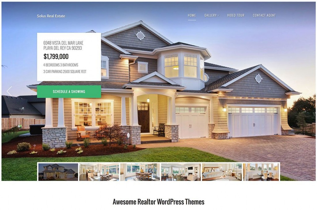 007 Imposing Real Estate Template Wordpres Inspiration  Homepres - Theme Free Download RealtyspaceLarge