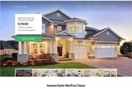 007 Imposing Real Estate Template Wordpres Inspiration  Homepres - Theme Free Download Realtyspace