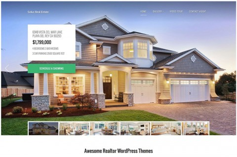 007 Imposing Real Estate Template Wordpres Inspiration  Homepres - Theme Free Download Realtyspace480