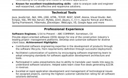 007 Imposing Software Engineer Resume Template Sample  Word Format Free Download Microsoft