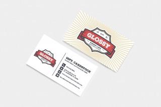 007 Imposing Staple Busines Card Template High Def  Word Brand Heavyweight320