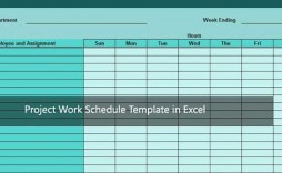 007 Imposing Work Agenda Template Excel Picture  Plan Free Monthly Schedule Download