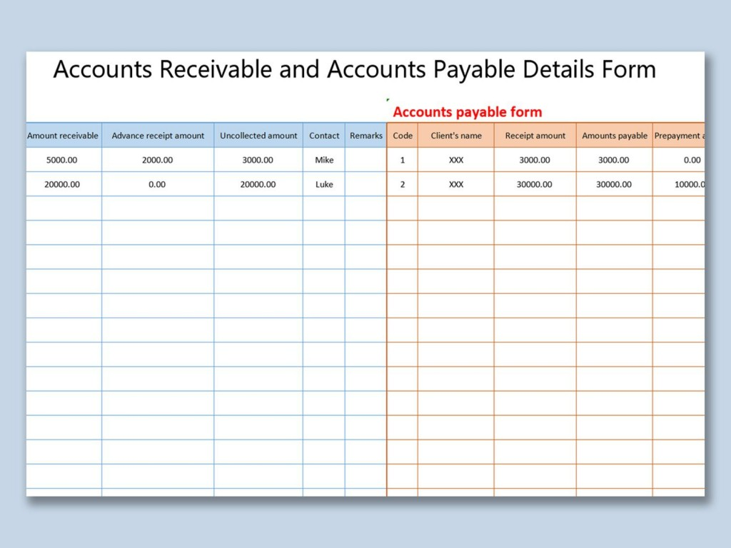 007 Impressive Account Receivable Excel Spreadsheet Template Idea  Management Dashboard FreeLarge