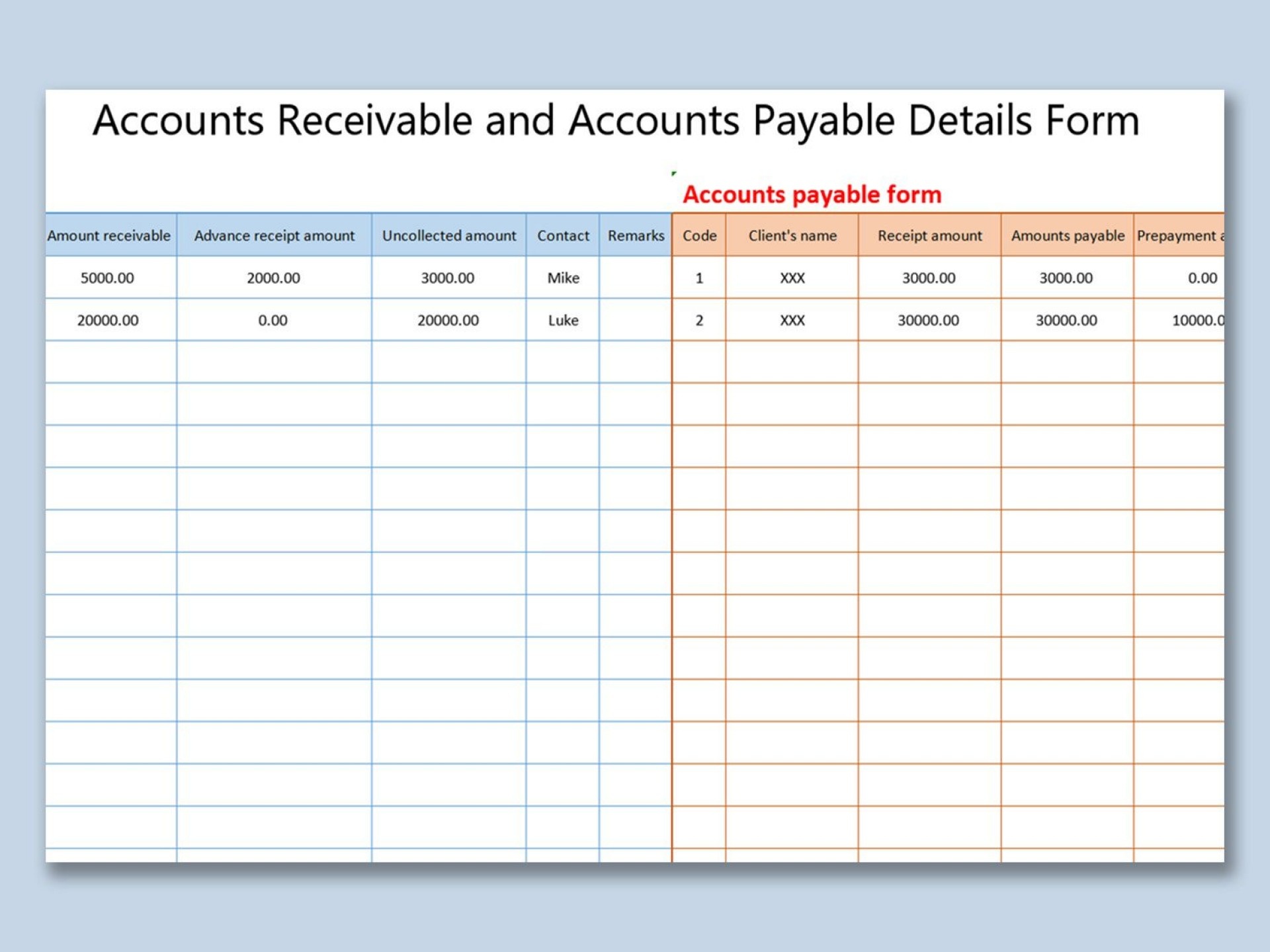 007 Impressive Account Receivable Excel Spreadsheet Template Idea  Management Dashboard Free1920