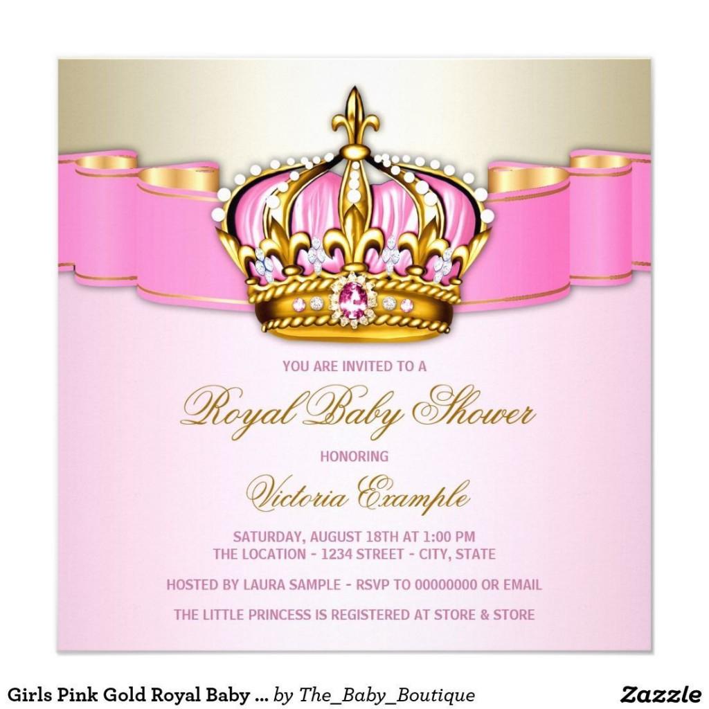 007 Impressive Baby Shower Invitation Girl Princes High Definition  Princess ThemeLarge