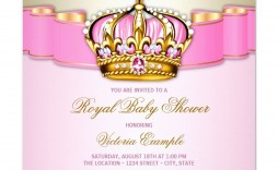 007 Impressive Baby Shower Invitation Girl Princes High Definition  Princess Theme