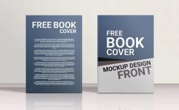 007 Impressive Book Cover Template Free Download Highest Clarity  Illustrator Design Vector Illustration