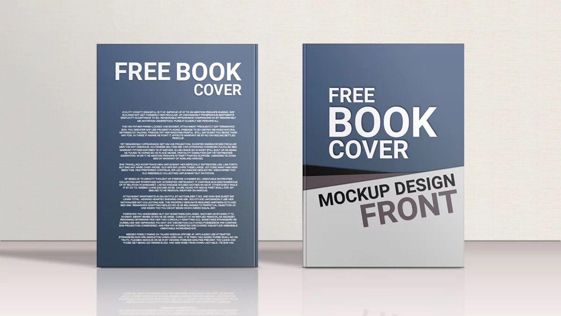 007 Impressive Book Cover Template Free Download Highest Clarity  Illustrator Design Vector IllustrationFull