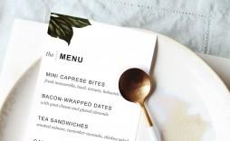 007 Impressive Dinner Party Menu Template Design  Word Elegant Free Google Doc