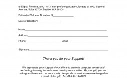 007 Impressive Donation Receipt Template Word Idea  Free Microsoft Charitable