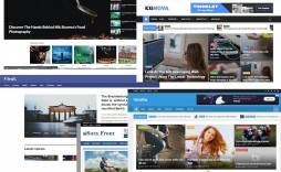 007 Impressive Download Free Responsive Blogger Template Picture  Galaxymag - New & Magazine Newspaper Video