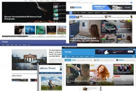 007 Impressive Download Free Responsive Blogger Template Picture  Newspaper - Magazine Premium