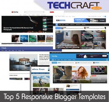 007 Impressive Download Free Responsive Blogger Template Picture  Newspaper - Magazine Premium360