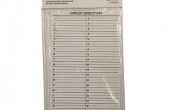 007 Impressive Electrical Panel Label Template Example  Siemen Free Excel