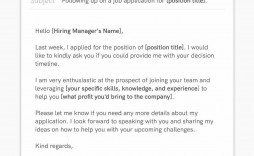 007 Impressive Follow Up Email Sample Interview Example  Before Job After Pdf