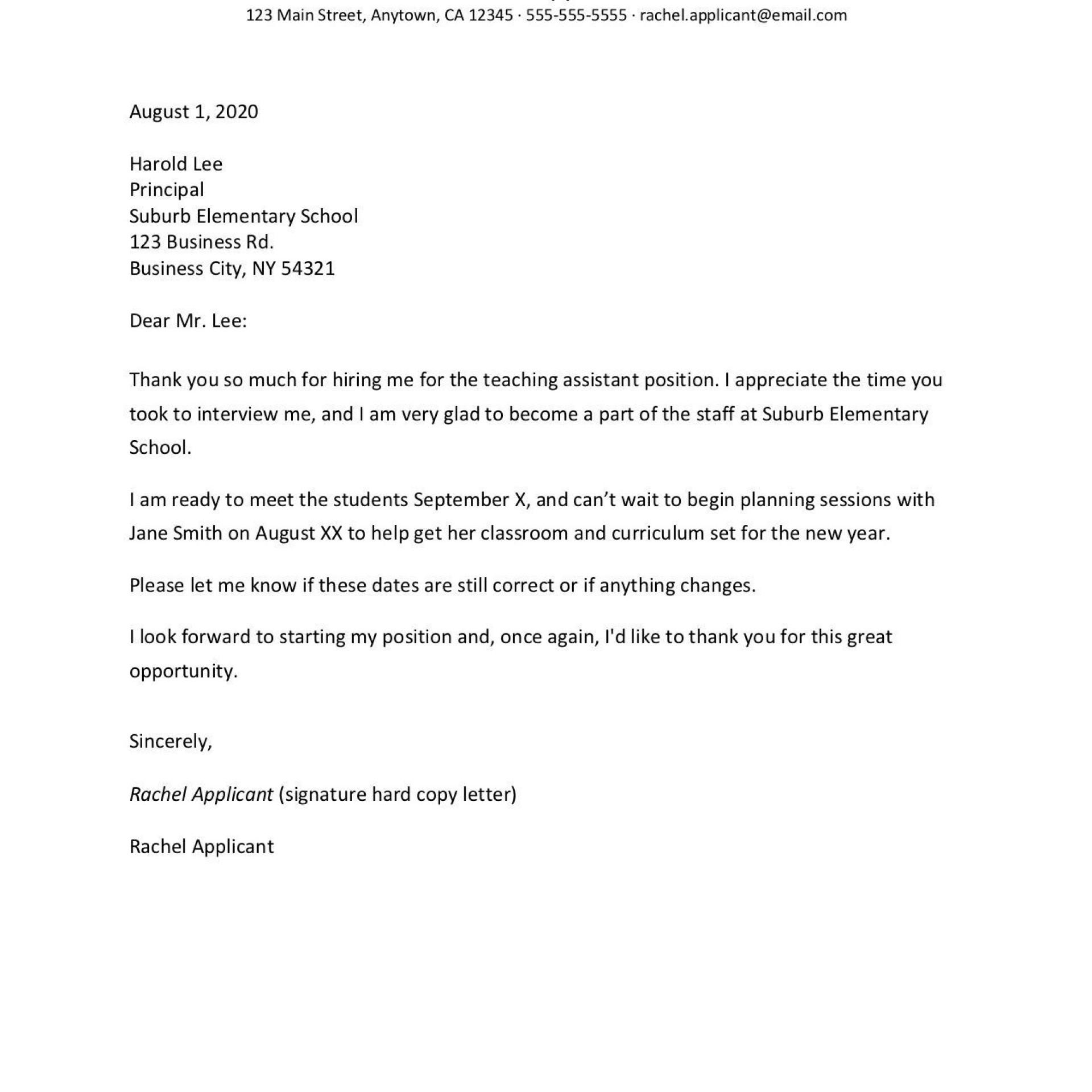 007 Impressive Follow Up Email Template Job Application Sample  After For1920