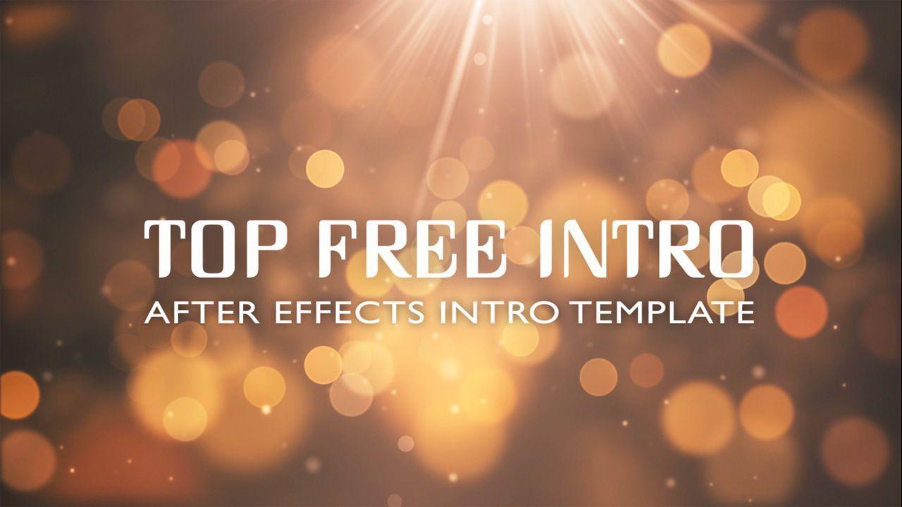 007 Impressive Free After Effect Template Intro Download Idea  Zip Adobe Cc Cs6Full
