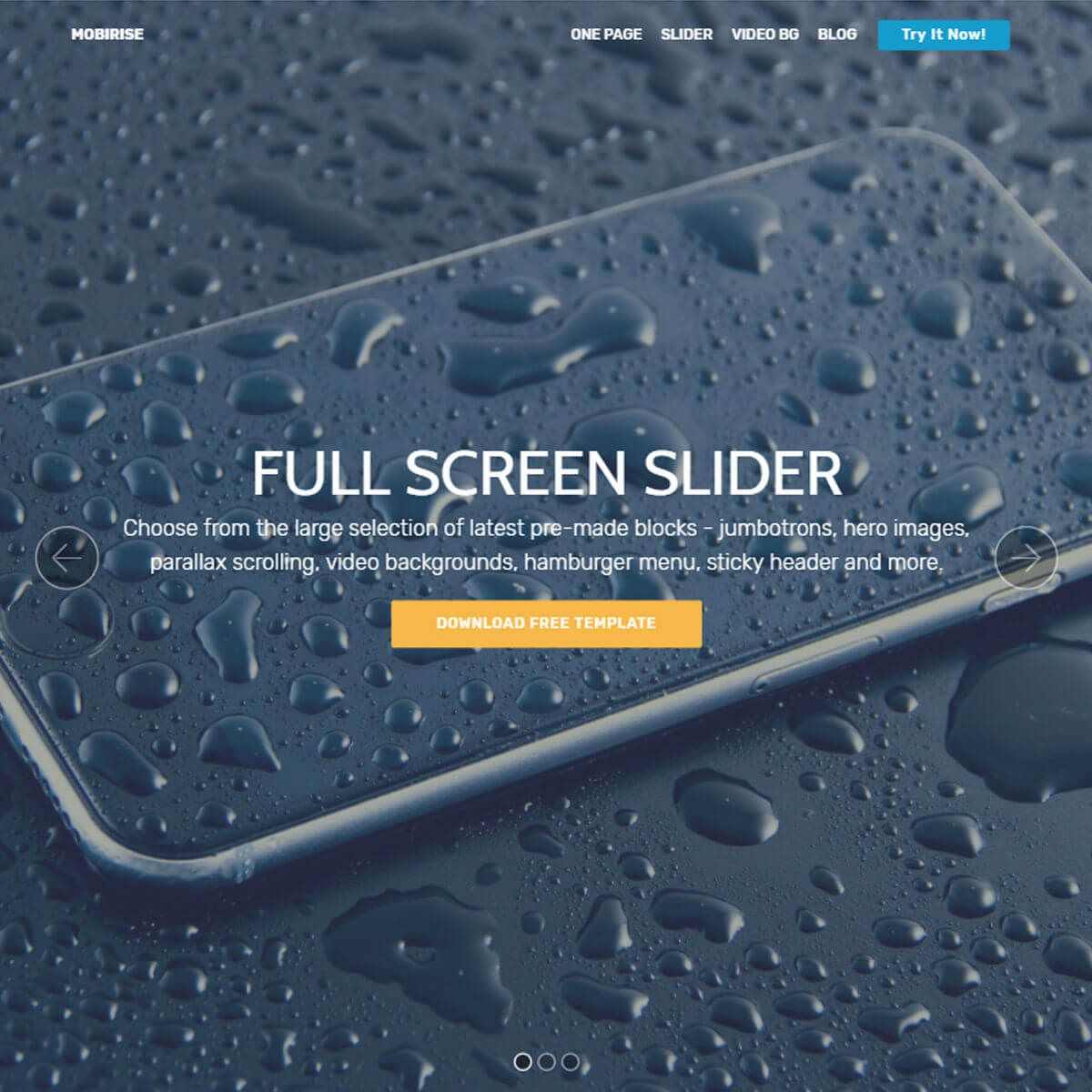 007 Impressive Free Html Template Download With Slider Picture  Website And Cs Jquery Simple ResponsiveFull