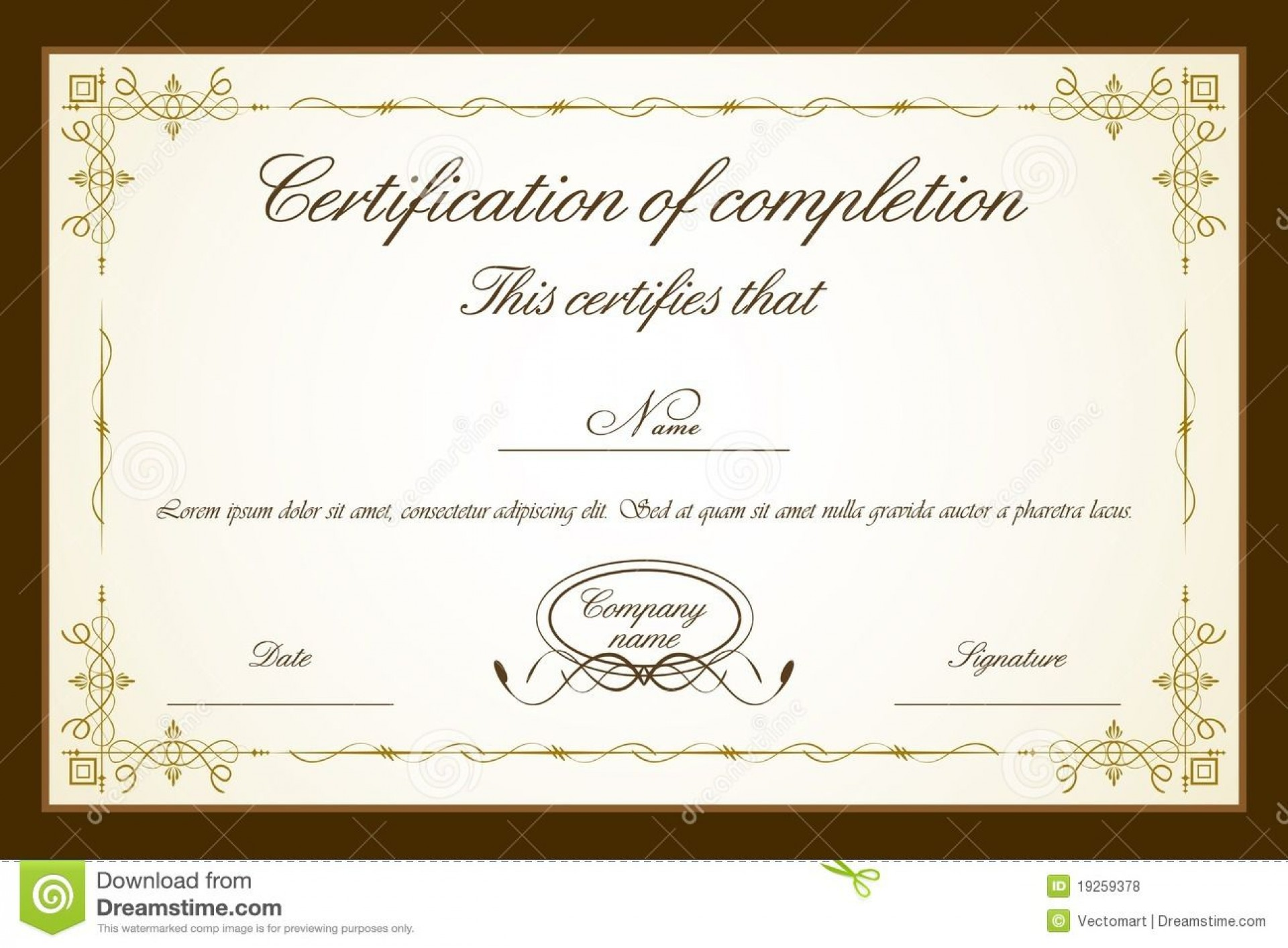 007 Impressive Free Printable Certificate Template High Resolution  Templates Blank Downloadable Participation1920