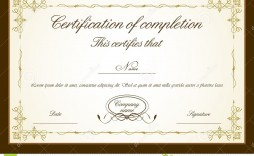 007 Impressive Free Printable Certificate Template High Resolution  Templates Blank Downloadable Participation