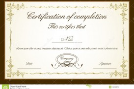 007 Impressive Free Printable Certificate Template High Resolution  Blank Gift For Word Pdf